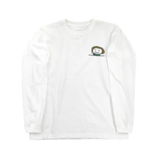 かっこつけ Long sleeve T-shirts
