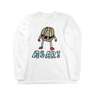 ASARIくん Long sleeve T-shirts