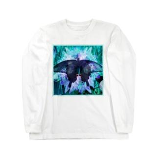 クロアゲハII Long sleeve T-shirts