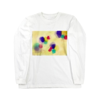おはじき Long sleeve T-shirts