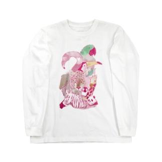 PINK SAFARI Long sleeve T-shirts