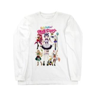 ガールズファイター!ミルクディッパー☆03☆AYA Long sleeve T-shirts