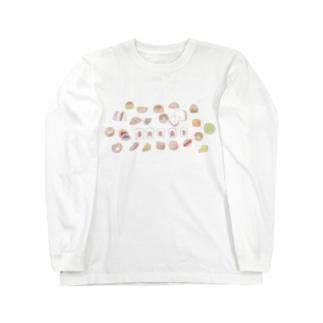 なかよしパン屋さん Long sleeve T-shirts