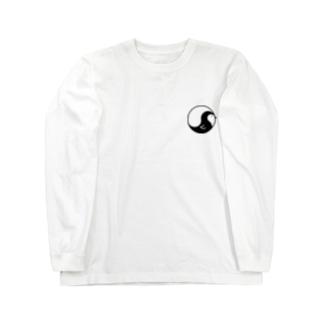 まがたまペンギン Long sleeve T-shirts