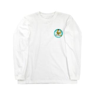 東風鶏飯幸福の風見鶏グッズ Long sleeve T-shirts