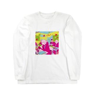 女子校 Long sleeve T-shirts