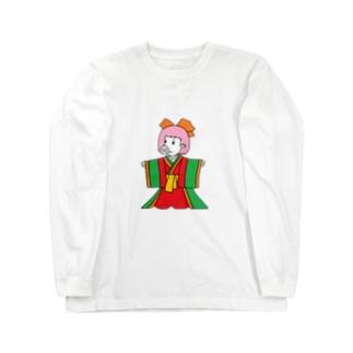 ジュウニヒトンエ(十二単豚衣)!? Long Sleeve T-Shirt