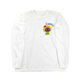 はぴはぴ💕 Long sleeve T-shirts