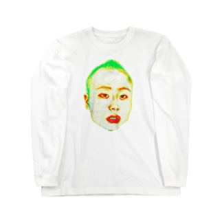 俺を見ろ!!! Long sleeve T-shirts