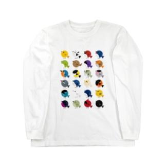 とりドリ Long sleeve T-shirts