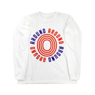 Around0 グランジ Long sleeve T-shirts