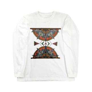 power -彩-  Long sleeve T-shirts