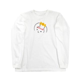 ハッピーちゃん Long sleeve T-shirts