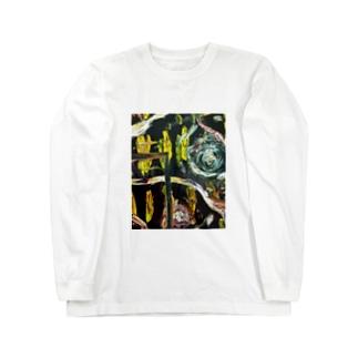 神秘の窓Tシャツ Long sleeve T-shirts