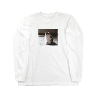 おすましみーちゃん。 Long sleeve T-shirts