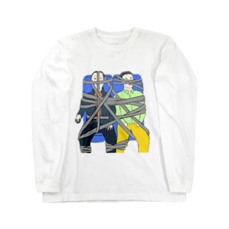 シートベルト締め放題バスツアー Long sleeve T-shirts