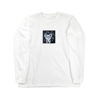 ヨークシャテリア Long sleeve T-shirts