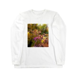 mariaMadeのもみじちゃん Long sleeve T-shirts
