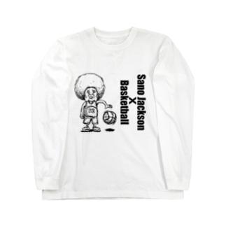SanoJackson x Basketball Long sleeve T-shirts