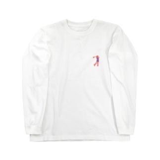 ゴルファー Long sleeve T-shirts