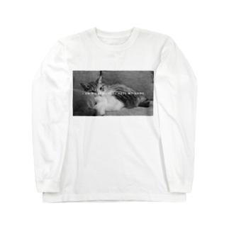 吾輩は猫である Long sleeve T-shirts