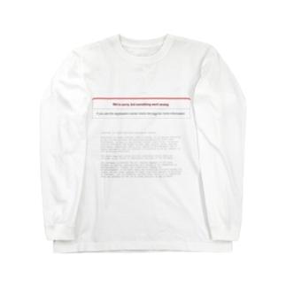 Error on Rails Long sleeve T-shirts
