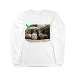 茂平君のロングスリーブTシャツ Long sleeve T-shirts