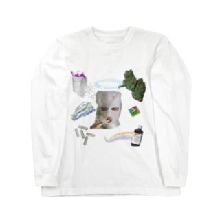 危ないアイテム Long sleeve T-shirts