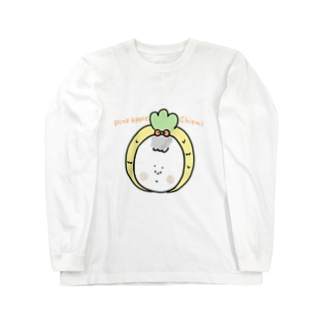 えだまるのパイナップル☆ちえみ Long sleeve T-shirts