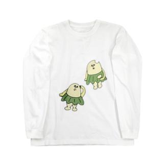 柏原ちまき 〝おとぼけ〟 Long Sleeve T-Shirt