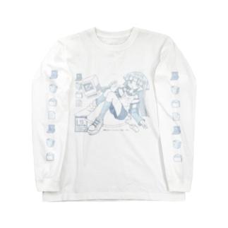 かしこいコンピュータ Long sleeve T-shirts