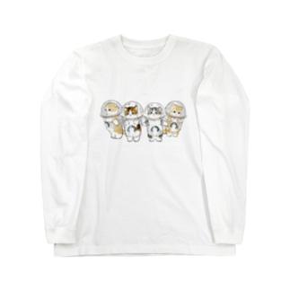防御力ZERO宇宙服 Long sleeve T-shirts