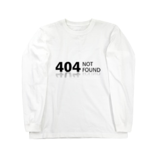404 NOT found Long sleeve T-shirts