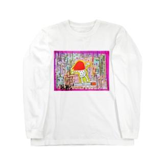 けむり。 Long sleeve T-shirts