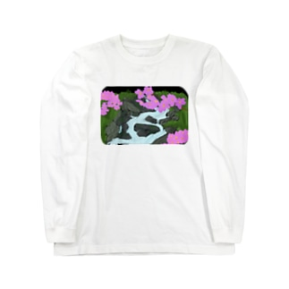 花鳥風月 Long sleeve T-shirts