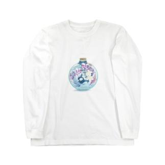 MINI BANANA ハーバリウム Long sleeve T-shirts