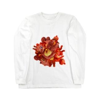 コラージュチョボモン Long sleeve T-shirts