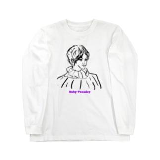 ルビーチューズデイ Long sleeve T-shirts