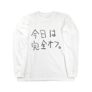 オフT Long sleeve T-shirts