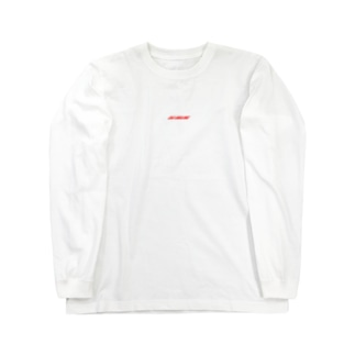 DIE SMILING 赤ロゴ Long sleeve T-shirts