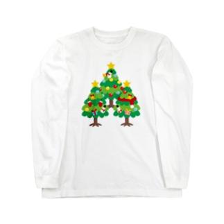 CT89 森さんのクリスマスA Long sleeve T-shirts