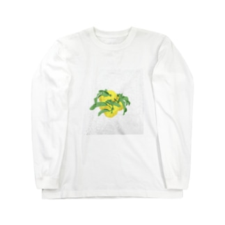 ゆず Long sleeve T-shirts