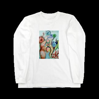 Metamorphoses~Strange&Bizzare~のくねくね Long sleeve T-shirts