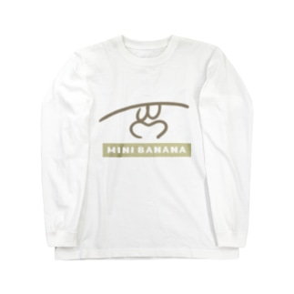 MINI BANANA Long sleeve T-shirts