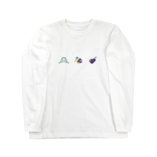 初夢_pixel Long sleeve T-shirts