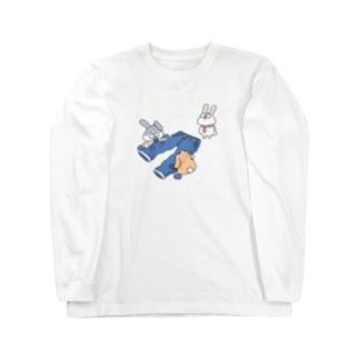 ダメージジーンズ工房(ラビット支店) Long sleeve T-shirts
