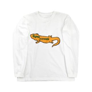 """フトアゴヒゲトカゲ学名""""Pogona vitticeps""""Long T-Shirt Long Sleeve T-Shirt"""