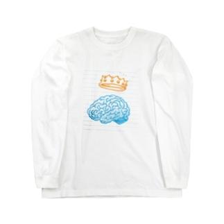 脳みそくん Long sleeve T-shirts