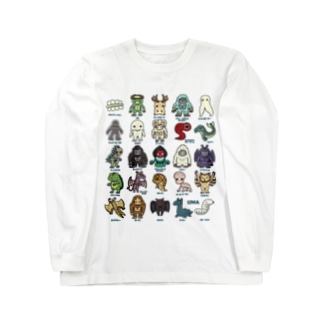 2.5等身 UMA図鑑 Long sleeve T-shirts