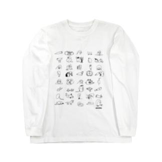 ごきんじょさん Long sleeve T-shirts